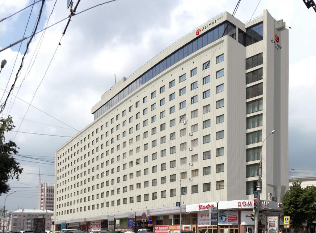 Отель Азимут Воронеж